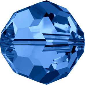 Margele Swarovski 5000 Capri Blue (243) 7 mm