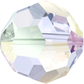 Margele Swarovski 5000 Crystal AB (001 AB) 4 mm - Aurora Boreala