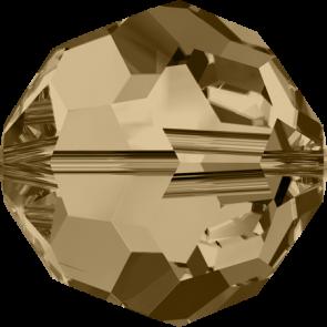 Margele Swarovski 5000 Crystal Golden Shadow (001 GSHA) 3 mm