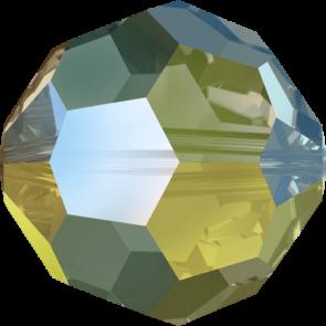 Margele Swarovski 5000 Crystal Iridescent Green (001 IRIG) 3 mm