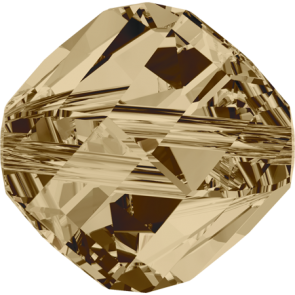Margele Swarovski 5020 Crystal Golden Shadow (001 GSHA) 6 mm