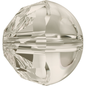 Margele Swarovski 5026 Crystal Silver Shade (001 SSHA) 8 mm