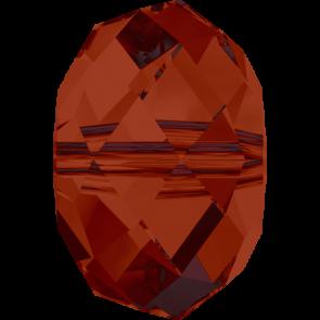 Margele Swarovski 5040 Crystal Red Magma (001 REDM) 4 mm