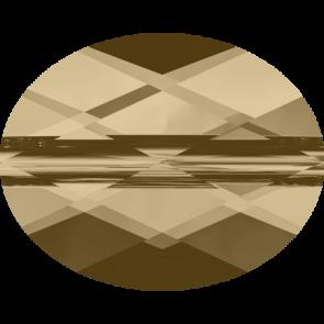Margele Swarovski 5051 Crystal Golden Shadow (001 GSHA) 8 x 6 mm