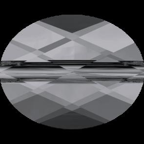 Margele Swarovski 5051 Crystal Silver Night (001 SINI) 8 x 6 mm