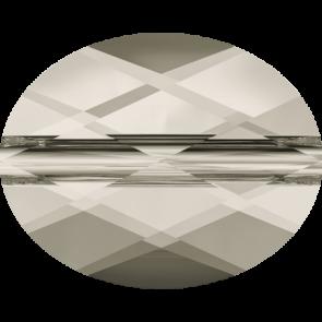 Margele Swarovski 5051 Crystal Silver Shade (001 SSHA) 8 x 6 mm