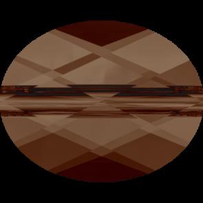 Margele Swarovski 5051 Smoked Topaz (220) 8 x 6 mm