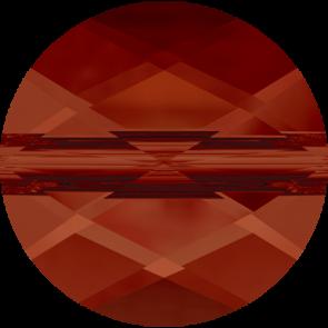 Margele Swarovski 5052 Crystal Red Magma (001 REDM) 6 mm