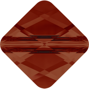Margele Swarovski 5054 Crystal Red Magma (001 REDM) 6 mm