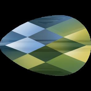Margele Swarovski 5056 Crystal Iridescent Green (001 IRIG) 12 x 8 mm