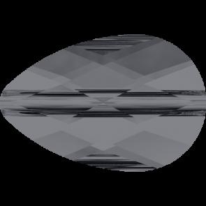 Margele Swarovski 5056 Crystal Silver Night (001 SINI) 10 x 6 mm