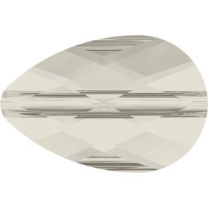 Margele Swarovski 5056 Crystal Silver Shade (001 SSHA) 12 x 8 mm