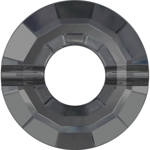Margele Swarovski 5139 Crystal Silver Night (001 SINI) 12,5 mm