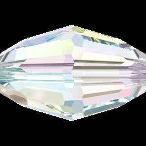 Margele Swarovski 5200 Crystal AB (001 AB) 6 x 4 mm