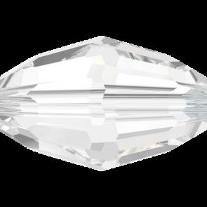 Margele Swarovski 5200 Crystal (001) 7,5 x 5 mm