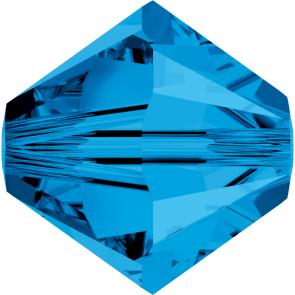 Margele Swarovski 5328 Capri Blue (243) 3 mm