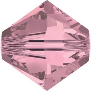 Margele Swarovski 5328 Crystal Antique Pink (001 ANTP) 3 mm