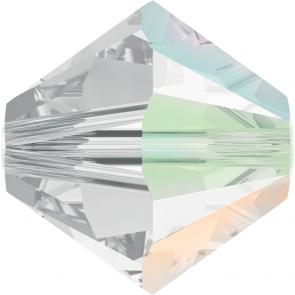 Margele Swarovski 5328 Crystal AB SATIN (001 ABSAT) 3 mm