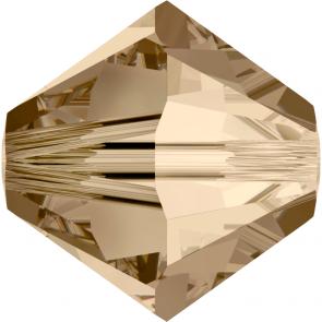 Margele Swarovski 5328 Crystal Golden Shadow (001 GSHA) 2,5 mm