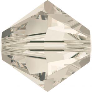 Margele Swarovski 5328 Crystal Silver Shade (001 SSHA) 2,5 mm