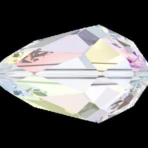 Margele Swarovski 5500 Crystal AB (001 AB) 12 x 8 mm
