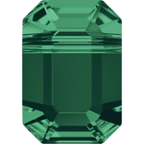 Margele Swarovski 5514 Emerald (205) 10 x 7 mm