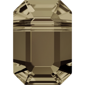 Margele Swarovski 5514 Smoky Quartz (225) 10 x 7 mm