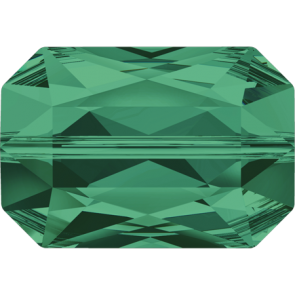 Margele Swarovski 5515 Emerald (205) 14 x 9,5 mm