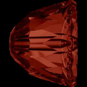 Margele Swarovski 5542 Crystal Red Magma (001 REDM) 8 mm