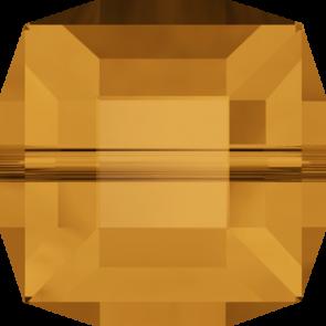 Margele Swarovski 5601 Topaz (203) 4 mm