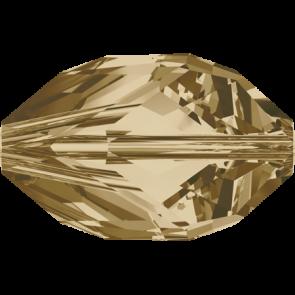 Margele Swarovski 5650 Crystal Golden Shadow (001 GSHA) 16 x 10 mm