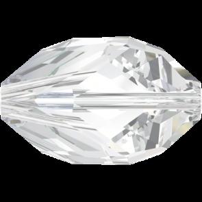 Margele Swarovski 5650 Crystal (001) 12 x 8 mm