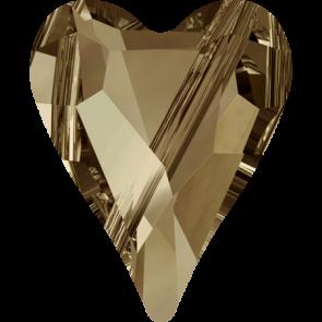 Margele Swarovski 5743 Crystal Golden Shadow (001 GSHA) 17 mm