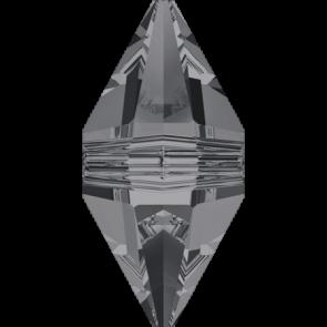Margele Swarovski 5747 Crystal Silver Night (001 SINI) 16 x 8 mm