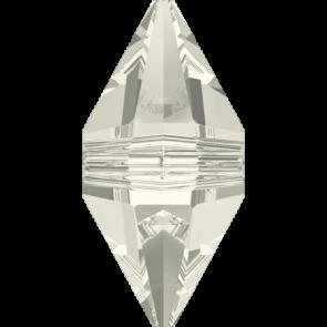 Margele Swarovski 5747 Crystal Silver Shade (001 SSHA) 16 x 8 mm
