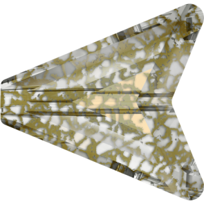 Margele Swarovski 5748 Crystal Gold Patina (001 GOLPA) 12 mm