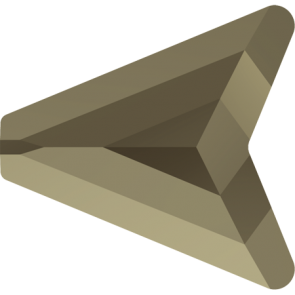 Margele Swarovski 5748 Crystal MetallicLightGold 2x (001 MLG2) 16 mm