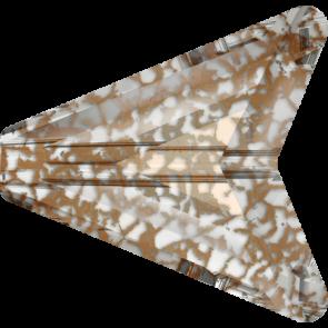 Margele Swarovski 5748 Crystal Rose Patina (001 ROSPA) 12 mm