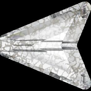 Margele Swarovski 5748 Crystal Silver Patina (001 SILPA) 12 mm