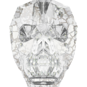 Margele Swarovski 5750 Crystal Silver Patina (001 SILPA) 13 mm