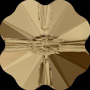 Margele Swarovski 5752 Crystal Golden Shadow (001 GSHA) 8 mm