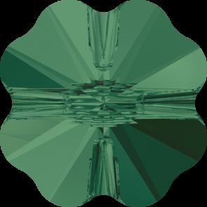 Margele Swarovski 5752 Emerald (205) 12 mm