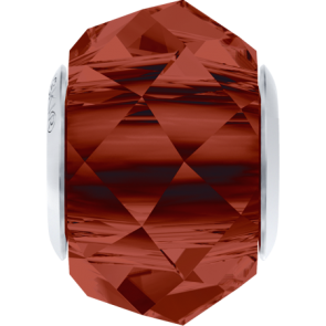 Margele Swarovski 5948 Crystal Red Magma (001 REDM) 14 mm