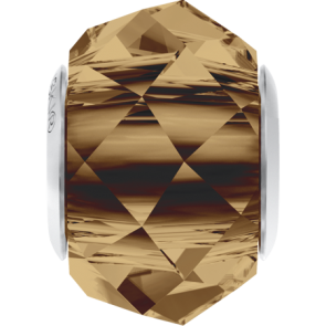 Margele Swarovski 5948 Light Smoked Topaz (221) 14 mm