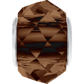 Margele Swarovski 5948 Smoked Topaz (220) 14 mm