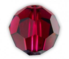 Margele Swarovski 5000 Ruby (227) 10 mm - Rosu Rubin