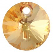 Pandantiv Swarovski 6428 XILION PENDANT Crystal Metallic Sunshine (001 METSH) 8 mm - Xilion