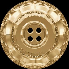 Nasturi Swarovski 3008 Crystal Golden Shadow F (001 GSHA) 14 mm