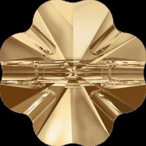 Nasturi Swarovski 3011 Crystal Golden Shadow (001 GSHA) 14 mm