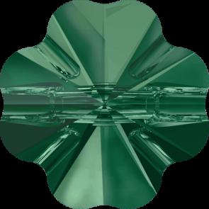 Nasturi Swarovski 3011 Emerald (205) 12 mm